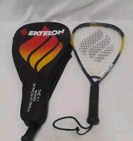 four unopened cans Ektelon Revolution racquetballs