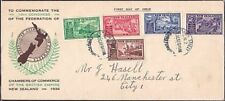 NEW ZEALAND 1936 Commerce set on commem FDC - ACS cat NZ$75.................8391