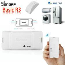 Sonoff Basic R3 RF Home WiFi Smart Switch DIY 240V Light Controller for Alexa