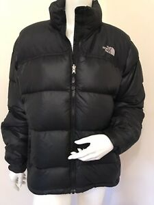 The North Face Nuptse 700 Puffer Jacket In Black - Size XL