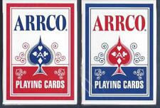 2 DECKS Arrco (2018) red-blue playing cards  FREE USA SHIPPING