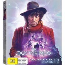DR WHO 075-079 (1974-1975) Season 12 Doctor Tom Baker Series 1 Aust Rg B BLU-RAY