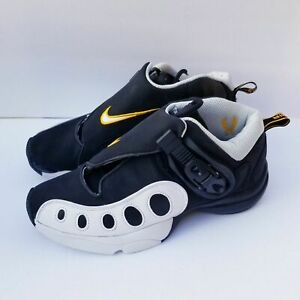 Nike Zoom GP Retro Gary Payton Basketball Shoes AR4342-002 Size 7 Black Gold