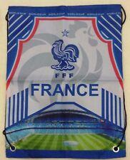 kiTki 44x33 cm France football soccer backpack trainer bag equipment sport
