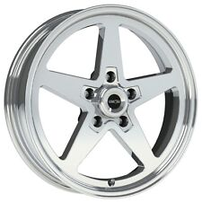 17X4.5 VISION SPORT STAR II ALUMASTAR PRO DRAG RACE STAR WHEEL 5X4.5 1pc NO WELD