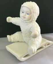 Dept 56 Snowbabies - Give Me A Push -MINT in Box