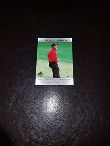 Tiger Woods UD SP Authentic 2014 Authentic Moments Card 51! Pack Fresh Mint!