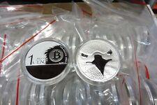 The Binary Eagle / Bitcoin Adler , 1 Unze Silber , 2014 , Mint of Poland