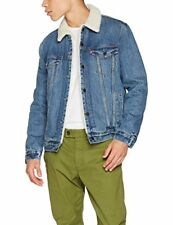 Levi's Type 3 Sherpa Trucker Giacca in Jeans Uomo