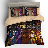 3D Five Nights At Freddy's Bedding Set 3PCS Of Duvet Cover & Pillowcase