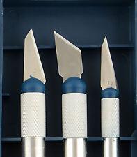 3pc Set de Précision Outil de Coupe de Rechange Tips Craft Hobby Sculpture T001