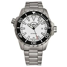 Zeno Men's Divers White Dial Stainless Steel Automatic Watch 6603-2824-A2M