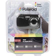 Polaroid is 126 16MP 4x Digital Zoom Digital Camera Black NEW!