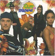 Cut 'N' Move/peace, Love & Harmony * NEW CD * NOUVEAU *
