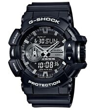 Casio G-Shock * GA400GB-1A Anadigi Black Silver Watch COD PayPal #crzyj