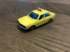Majorette No266 Renault 18 Taxi Yellow 1/60  France DieCast Scale