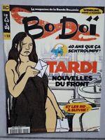 DA Magazine BoDoi BD n°13 Tardi Nouvelles du front Wendling anime le warner