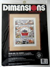 Dimensions Counted Cross Stitch Noah and the Animals Kit