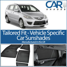 Mazda 5 5dr 2006-2011 UV CAR SHADES WINDOW SUN BLINDS PRIVACY GLASS TINT BLACK