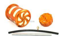 Alloy Air Filter Alloy Fuel Cap - Orange E033 85444 RC Baja 001 5B Upgrade