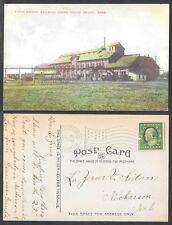 1909 Nebraska Postcard - Grand Island - Union Pacific Railroad Shops