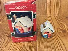 Enesco Ornament Home Tweet Home 1993 Treasury Of Christmas Love Birds house