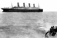 """Poster Print: 18"""" x 24"""" BDS: The Last Photo Of The Titanic Afloat - April, 1912"""