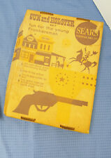 Vintage Sears Roebuck Co. Toy Gun & Holster Frontiersman Set BOX ONLY