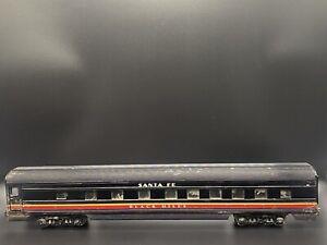 K-Line O Scale Santa Fe Black Hills Passenger/coach Car (water Damaged)