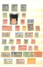 [OP9550] Bahamas lot of stamps on 10 pages