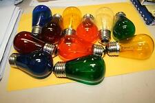 GLOBES LAMPS COLOURED ES 110 Volt  ROWE R-92 R-83 juke box  juke jukebox bulb