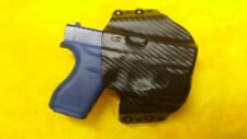HOLSTER BLACK CARBON KYDEX FITS GLOCK 26/27 With Streamlight TLR-6