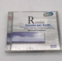 Sonata per Archi Sonatas For Strings Michael Erxleben (CD, 2 Discs 1999) Germany