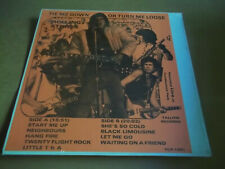 Rolling Stones - TIE ME DOWN OR TURN ME LOOSE 1981 rare live LP Not Tmoq SEALED