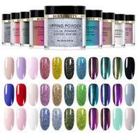 BORN PRETTY 10ml Nail Art Dipping Powder System Glitter Natural Dry No UV Needed