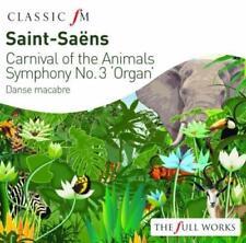 Saint-Saens: Carnival Of The Animals / Organ Symphony - Peter Hurford P (NEW CD)