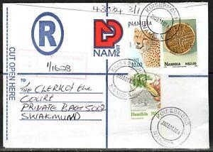 Namibia Cover - Kuisebmond 2 - 02.01.2003 Gepard Korb
