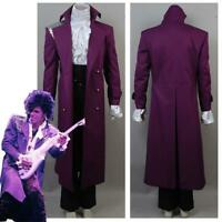 Prince Rogers Nelson Purple Rain Jacket Halloween Cosplay Costume UniformSuit