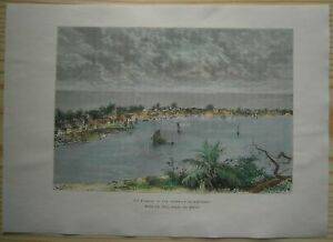 1891 Reclus print HOPE TOWN, ABACO ISLANDS, THE BAHAMAS (#67)