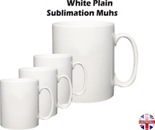 Sublimation Mugs White 11oz Coated Cup Blank Heat Press Printing Transfer