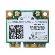 Mini PCI-e Wifi Wireless Laptop Card Dual Band for Intel 802.11ac 3160 3160HMW