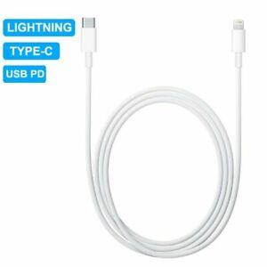 PD Fast Charging iPhone to Type C Charger Cable for iPhone 11 12 Pro XS Max X XR