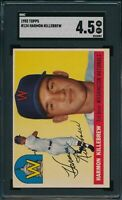 1955 Topps Set Break # 124 Harmon Killebrew SGC 4.5 Not PSA *OBGcards*