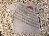 Team USA Basketball The Nike Tee Standard Fit Gray T-Shirt Men's X-Large