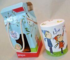 Charlie and Lola Collectable - Boxed & Unused W&W Ltd Ceramic Money Box C2010