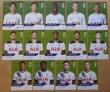 Tottenham Hotspur Firmado Oficial Del Club Tarjetas - Individual Precio Updated