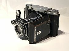 Moskva 5 Vintage Folding Camera with Original Tripod
