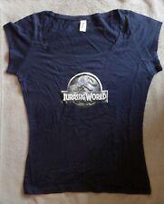 JURASSIC WORLD T-Shirt Promo Woman Size L Femme Taille L