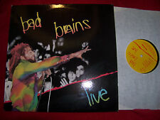 Bad Brains - Live      klasse SST  LP