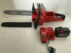 Milwaukee FUEL M18 2727-21HD 18-Volt 16-Inch Brushless Lithium-Ion Chainsaw, L.N